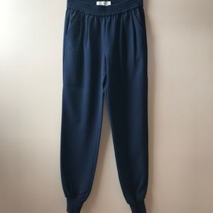 Joie Mariner Pant in Marine Blue, size XXS